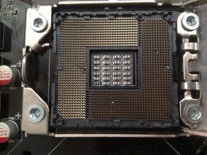 آموزش تعمیر سوکت پردازنده مادربرد