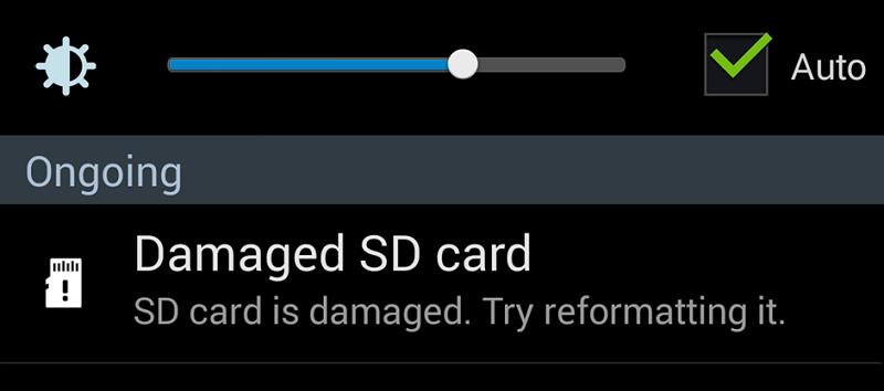 نحوه تعمیر کارت های MicroSD خراب شده